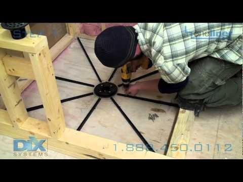 Shower Pan Install Dix Step 1 Floor Prep Pre Pitch