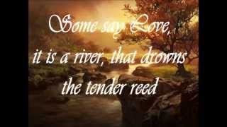 The Rose   song by Bette Midler + lyrics mp3