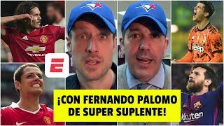 Messi, Chicharito, Morata, Muriel, Cavani y Del Piero. Los SUPER SUPLENTES del futbol. | Cal y Arena