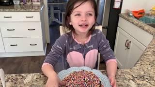 A Cake Recipe | A Chocolate Cake Recipe | Cooking With Kids | Cake Decoration
