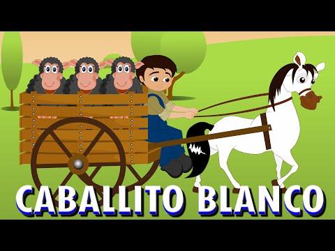 Caballito blanco | Canciones infantiles en español