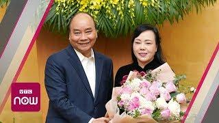 Bà Kim Tiến xúc động ngày rời ghế Bộ trưởng Y tế