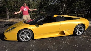 The Lamborghini Murcielago Roadster Is the Last Old-School Lambo