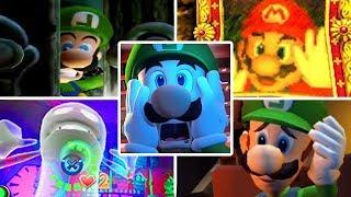 Evolution of Luigi's Mansion Games (2001 - 2019)