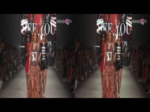 3D movie - ByDanie mix & match show during Amsterdam Fashion Week