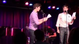 "Adam Kaplan and Mike Faist performing ""Anything You Can Do"""