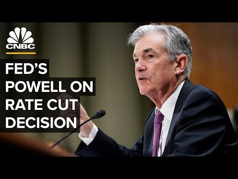 Fed Chairman Jerome Powell speaks after interest rate cut decision – 09/18/2019