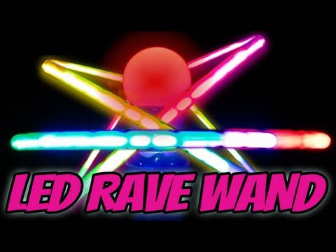 3D Orbiter Rave Wand - Rave Toy of the Year Review [2011] LED Wand Glow In The Dark Dance Toy