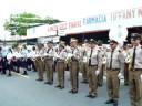 Himno Nacional de Panama Desfile Frontera 5 Nov. 2008