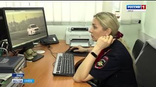 Омская ГИБДД создала базу данных нарушителей, которые ездят на машинах с иностранными номерами
