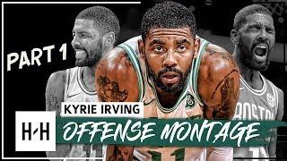 Kyrie Irving EPIC Montage, Offense Highlights 2017-2018 (Part 1) - CRAZY Handles, Celtics Debut!