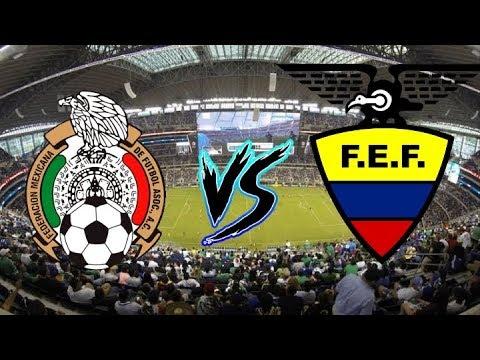 México vs Ecuador | Dónde ver en vivo | Amistoso 2019