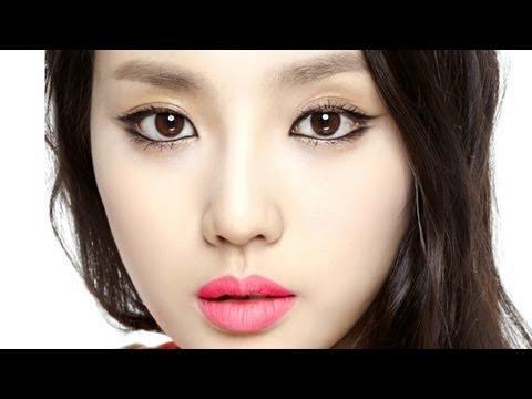 체리핑크 매트립 포인트 메이크업_Cherry Pink Matte Lip Makeup