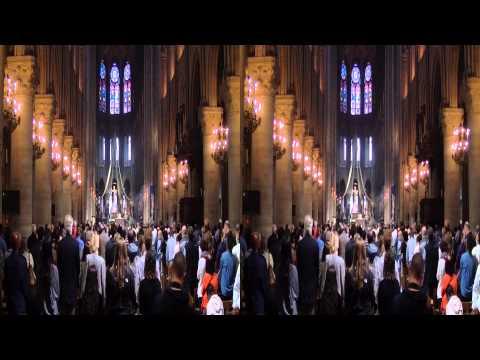 Paris, Notre Dame, 2013 3D