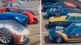 NEW GTA ONLINE ALL 9 UNRELEASED CARS (Christmas 2018 DLC)