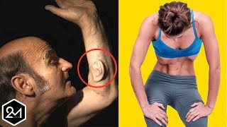 8 Strange And Tricky Things You Didn't Know Your Body Could Do