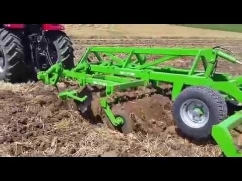 Kombine Toprak İşleme Makinesi