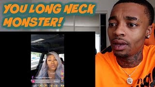 REACTING TO MY EX'S SISTER BEING TIRED OF ME SPEAKING ON HER & SISTERS NAME!