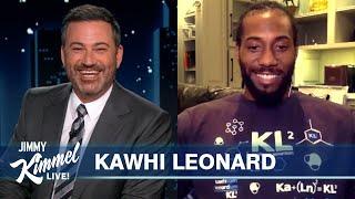 Kawhi Leonard on Choosing the Clippers, Teammate Secret Santa & Superfan Billy Crystal Quizzes Him