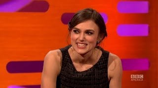 KEIRA KNIGHTLEY's Star Wars Secrets as Natalie Portman's Double - The Graham Norton Show BBC AMERICA