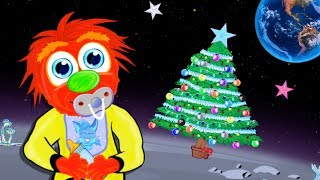 30 Minute Lullabies Christmas In Space Soft Xmas Music Bedtime Lullaby Cartoon For Kids