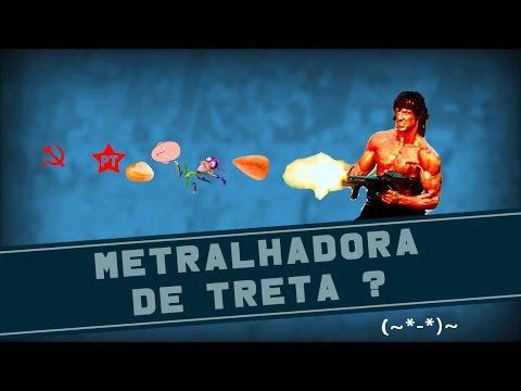 METRALHADORA DE TRETA? | QSN #40
