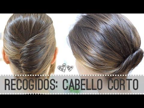 Peinados Para Cabello Corto 2 Recogidos F 193 Ciles Youtube