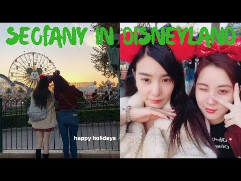 (SEOFANY) SeoHyun & Tiffany Have Met Up in L.A!!! [15.12.17]
