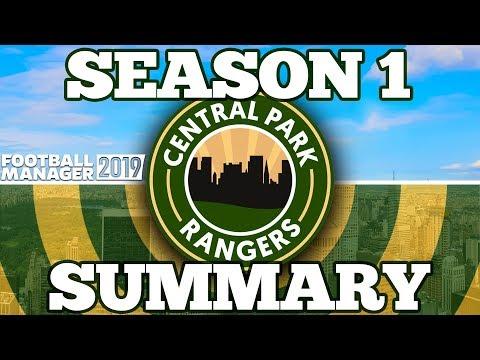 CENTRAL PARK RANGERS   SEASON 1 SUMMARY   FOOTBALL MANAGER 2019