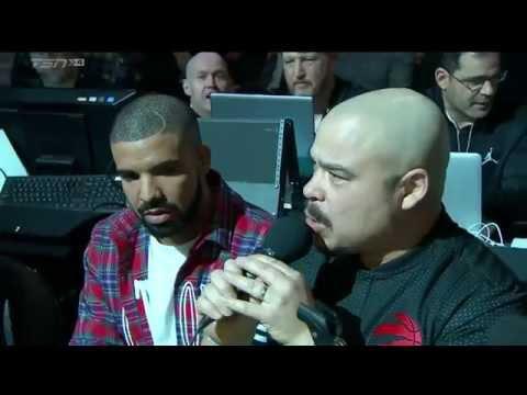Drake Night: Drake Announces Toronto Raptors Starting Lineup