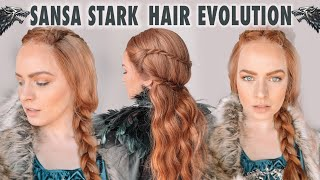The Evolution of Sansa Stark Hairstyles - KayleyMelissa
