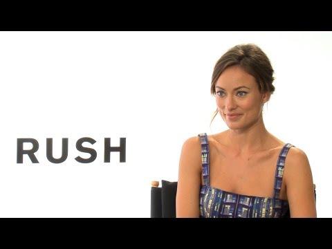 'Rush' Olivia Wilde Interview