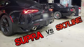 2020 Toyota Supra Street Races Against Shelby GT500, Nissan R32 Skyline, Camaro SS, & More!