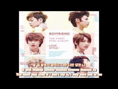 Boyfriend - Super Hero _ Lyrics [ENG SUB   ROM   KOR]