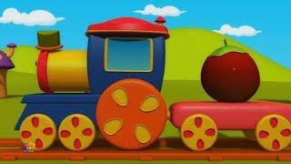 bob sayuran kereta api   kanak-kanak belajar video   Bob The Train   Learn Vegetables   Kids Video