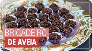 BRIGADEIRO DE AVEIA {brigadeiro vegano} fácil, rápido e barato | #fiqueemcasa e Cozinhe#comigo