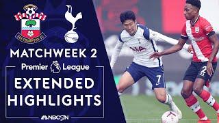 Southampton v. Tottenham | PREMIER LEAGUE HIGHLIGHTS | 9/20/2020 | NBC Sports