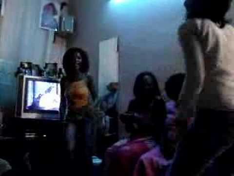 Senegalese dance party