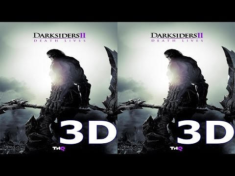Darksiders 2 3D VR TV cardboard video SBS by 3D VR TV PC Games Videos