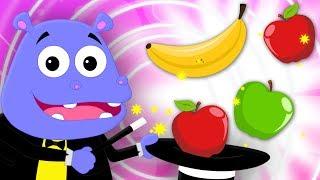 Apples and Bananas | Learn Fruits | Nursery Rhymes Songs For Kids | Baby Rhyme