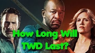 Lennie James on if TWD & FTWD Can Survive Without Rick and Madison! How Long Will These Shows Last?