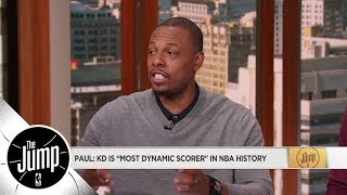 Paul Pierce on Kevin Durant: Most dynamic scorer in NBA history | The Jump | ESPN
