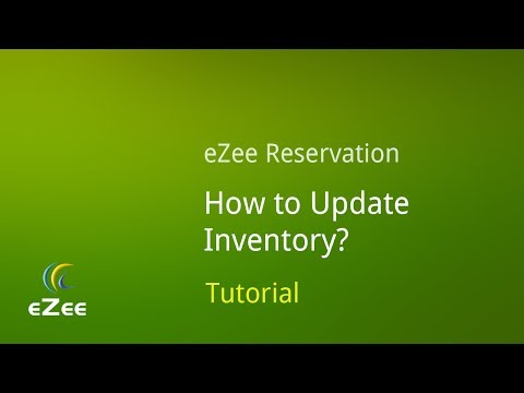 How to Update Inventory in eZee Reservation, Online Hotel Booking Engine