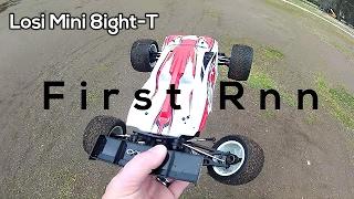Losi Mini 8ight-T First Run