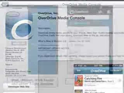 OverDrive app audiobooks Dec2013