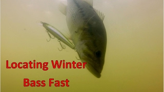 How to Find the Winter Bass Fishing Mother Lode!