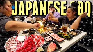 WAGYU STEAK MUKBANG 먹방 ALL YOU CAN EAT JAPANESE BBQ EATING SHOW! (COOKING AND EATING) *SO GOOD*