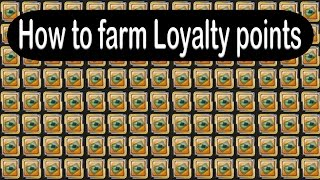 How/Where to Farm Loyalty Points | Aura Kingdom