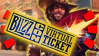 Overwatch - Exclusive LEGENDARY Blizzcon Skin + McCree Animated Short Possibility