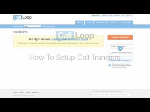 Voice Broadcast Call Transfers (Press-1 to Transfer)